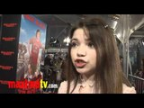 "Jadin Gould (Battle: Los Angeles) Interview at ""Gulliver's Travels"" Premiere"
