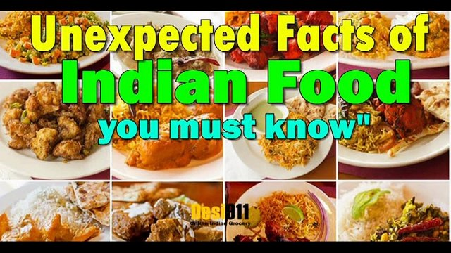 Unexpected Facts of Indian Food You Must Know