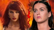 Katy Perry Still Feuding With Taylor Swift? | Hollywood Buzz