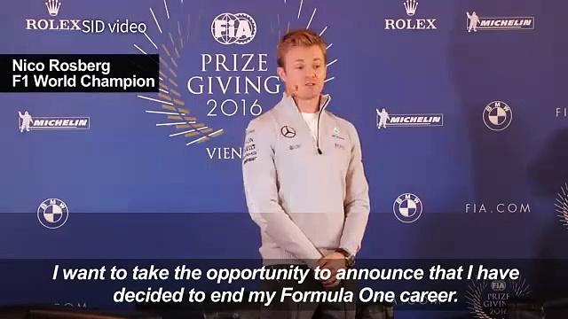 Formula One World champion Rosberg an234rwr