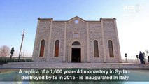Replica of Syrian church ray IS opens in Italy[1]