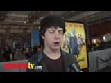 "DYLAN MINNETTE Interview at ""MEGAMIND"" 3D Premiere"