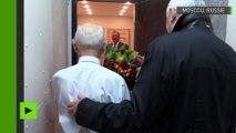 Vladimir Poutine rend visite à son ancien chef du KGB le jour de son 90e anniversaire