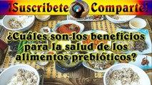 Cuales son los beneficios para la salud de los alimentos prebioticos%3F