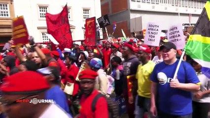 La jeunesse Sud-Africaine au premier rang anti Zuma