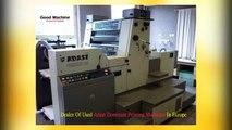 Good Machine - Second Hand Offset Printing Machines Importer