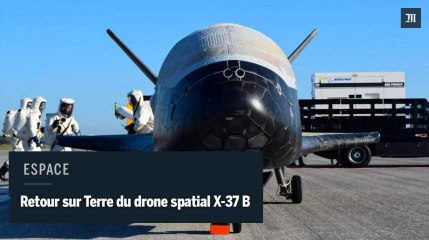 Un drone militaire américain revient sur Terre après deux ans de l'espace