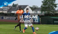 Championnat National : tous les buts de la 32e journée (2016-2017)