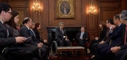 Lenin Moreno se reunió con Juan Manuel Santos