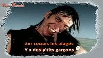 Jean-Louis Aubert - Les plages KARAOKE / INSTRUMENTAL