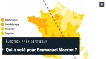 Victoire d'Emmanuel Macron: le second tour de la présidentielle expliqué en cartes