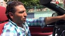 250 bin liralık lüks aracını taksi yaptı