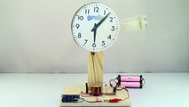 Electromagnetic PENDULUM _ Simple Electric MOTOR _ Electromagnetic Experiments-WfW