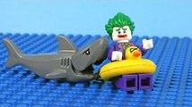 Lego Batman vs Spiderman vs Joker - Super Heroes Stop Motion Animation - prison break