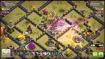 Clash Of Clans - Testando o layout de guerra CV9 #5/ Testing TH9 war layout #5
