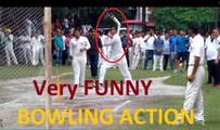Funny ACTION - Very Unique bowling STYLE in U-19 Trials - Bet you can't STOP laughing