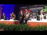 MANNY PAQUIAO VS JESSIE VARGAS FACE OFF!! - EsNews Boxing
