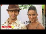 Clifton Collins Jr. & Megan Ozurovich at 14th Annual LALIFF Opening Night Gala