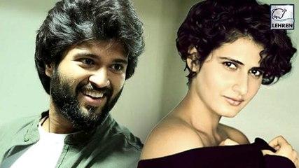 Vijay Deverakonda To Romance With Dangal Fame Fatima Shaikh