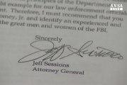 Trump licenzia il direttore dell'Fbi
