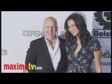 """Bruce Willis and Emma Heming at """"The Expendables"""" Premiere August 3, 2010"""