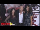 "Rumer Willis, Bruce Willis, Emma Heming at ""The Expendables"" Premiere"
