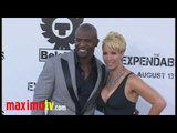 """Terry Crews and Rebecca Crews at """"The Expendables"""" Premiere Arrivals August 3, 2010"""
