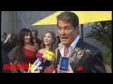 "David Hasselhoff Interview at ""Roast of David Hasselhoff"""