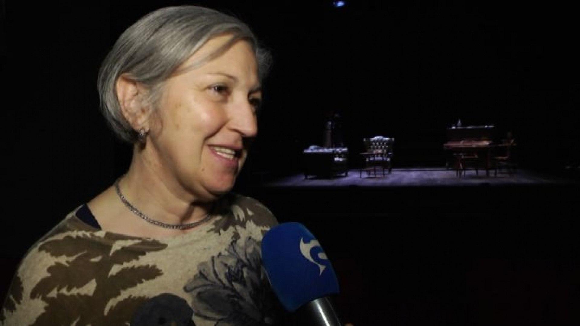 Maria Paiato: dentro l'Eliseo si percepisce la storia del teatro