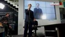 Thomas Azier chante «Call» en live au Parisien