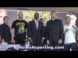 BERNARD HOPKINS VS JOE SMITH JR PRESS CONFERENCE - EsNews Boxing
