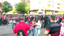 Incidents at the Calderon before the match between Atletico Madrid and Real Madrid!