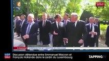 Emmanuel Macron : Quand François Hollande le taquine sur son arrivée à l'Elysée