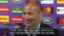 Tirage - Eddie Jones impatient d'affronter la France