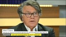 """Gilbert Collard : """"Ce brave Jean-Marie ferait bien de raccrocher son béret de para ou son casque à pointe"""""""