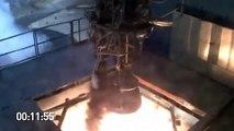 SpaceX Merlin 1D Roket Motoru Testi