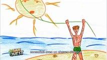 TAHITI QUEST Episode 1  - Le Sage Témaéria raconte la légende du soleil _ B