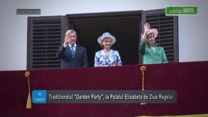 Tradiţionalul Garden Party, la Palatulu Elisabeta de Ziua Regelui