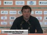(J37) Amiens - Laval, avant-match avec T.Goudet