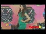 Kids Choice Awards 2010 Arrivals Justin Bieber Selena Gomez