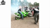 Best Motorcycle Fails Compilation   Idiots on Motorbikes-VCdsa