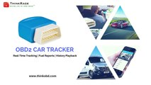 OBD2 GPS Tracking Device || Mini GPS Tracker for Car by ThinkRace