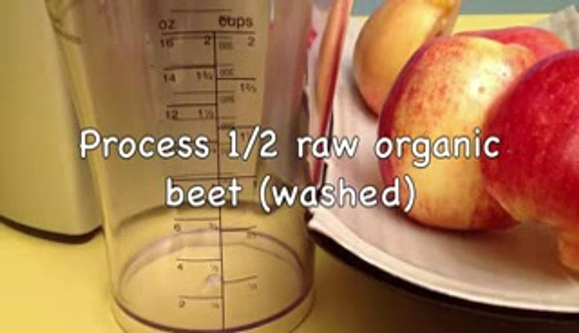 How to e a Healthy Apple and Beet Juice (HD)