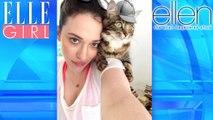 Le Chapeau du chat de Kat Dennings!   The Ellen DeGeneres Show   Du Lundi à Vendredi à 20h10   Talk Show