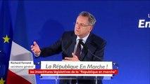 """Cas Manuel #Valls : """"nous ne l'investissons pas mais ne lui opposons pas de candidat"""" non plus, explique Richard Ferrand. #législatives2017"""