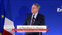 """""""24 députés sortants investis par la République en marche, des députés socialistes"""", explique Richard Ferrand sec. général #législatives2017"""