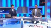 Έπαθλο Novasports Superleague για τον Αναστασιάδη για δήλωσή του (ΑΕΛ 2016-17) 9-5-2017 Novasports