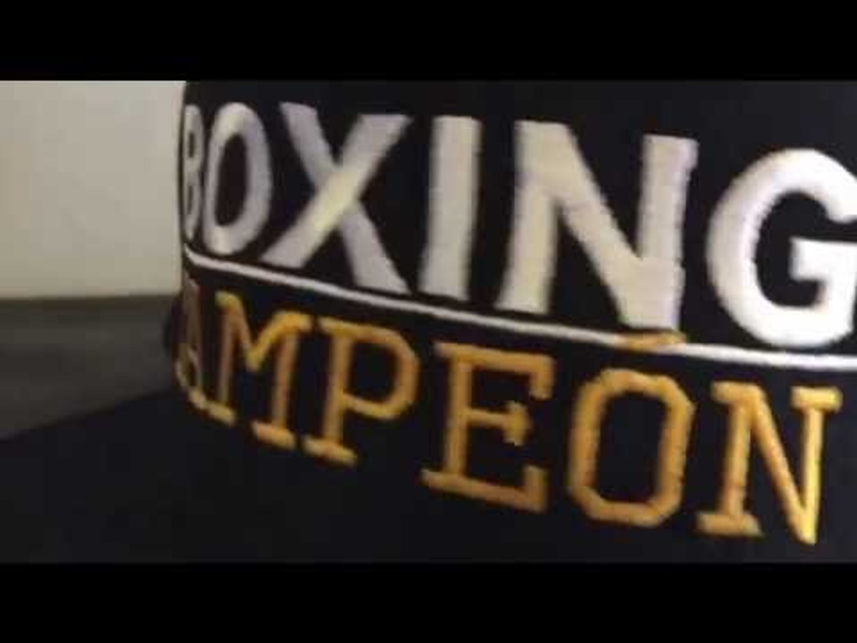 boxing campeon hats - esnews boxing