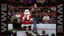 'Stone Cold' drops Santa Claus with a Stunner - Raw, Dec. 22, 1997