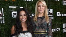 Demi Lovato Collaborates With Kate Hudson For Athletic Clothes Line